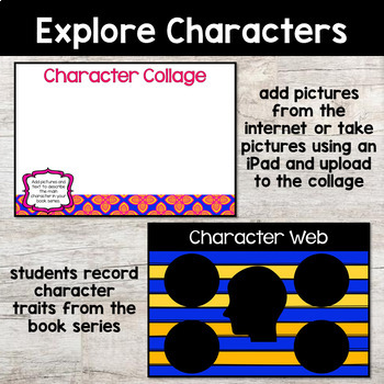 DIGITAL Settling into the Theme: Book Series Study - Google Slides & Powerpoint