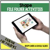 DIGITAL Shape File Folder Activities