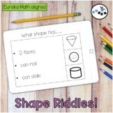 DIGITAL Shape Riddles Eureka Math Module 6 Topic A