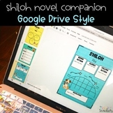Distance Learning DIGITAL Shiloh Novel Study