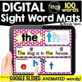 DIGITAL Sight Word Mats: FRY Words 1-100   Distance Learning