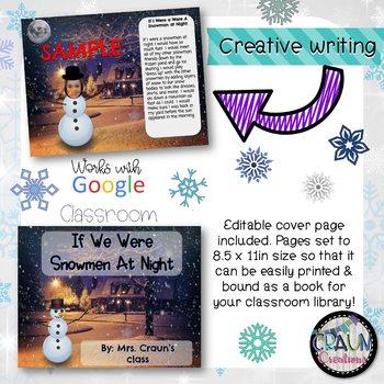 DIGITAL Snowmen at Night Class Book