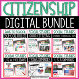 DIGITAL Social Studies Bundle: Citizenship, Symbols, Holid