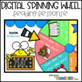 DIGITAL Spinning Wheel - Reading Response