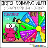 DIGITAL Spinning Wheel - Scavenger Hunt