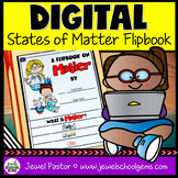 States of Matter DIGITAL Flipbook (Google Classroom Distan