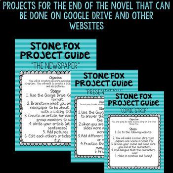 DIGITAL Stone Fox Novel Companion on Google Drive