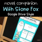 Distance Learning DIGITAL Stone Fox Novel Study