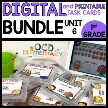 DIGITAL TASK CARDS BUNDLE MODULE 6   PRINTABLE TASK CARDS INCLUDED