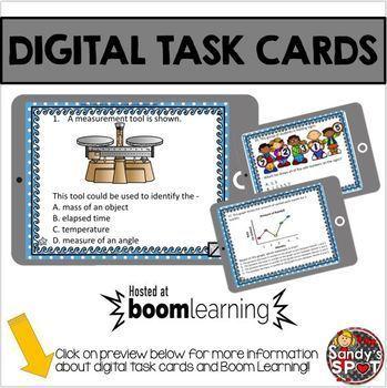 DIGITAL TASK CARDS BUNDLE Virginia Math SOL Grade 5