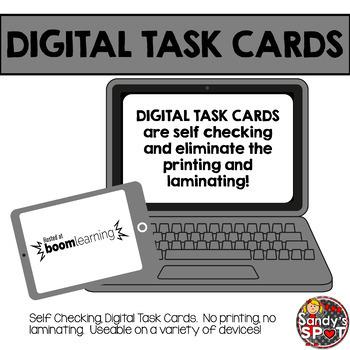 DIGITAL TASK CARDS Virginia Math SOL Grade 4 Set 4