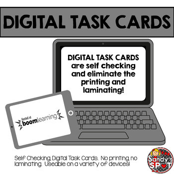 DIGITAL TASK CARDS Virginia Math SOL Grade 5 Set 4