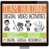 DIGITAL TEAM BUILDING CLASSROOM ACTIVITIES VIDEOS  |  GOOG