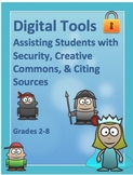 DIGITAL TOOLS: Assisting Students w/ Security, Creative Commons, Citing Sources