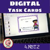DIGITAL Task Cards: Place Value 4.NBT.2- Google Slides