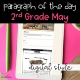DIGITAL Text Evidence Passages for 2nd Grade May | Distanc