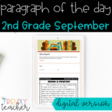 DIGITAL Text Evidence Passages for 2nd Grade September | D
