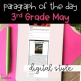 DIGITAL Text Evidence Passages for 3rd Grade May | Distanc