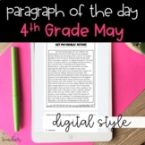 DIGITAL Text Evidence Passages for 4th Grade May | Distanc