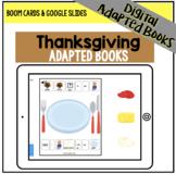 DIGITAL Thanksgiving Adapted Book Series