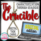 The Crucible DIGITAL Task Cards for High School