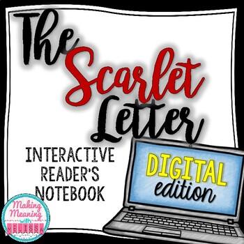 The Scarlet Letter DIGITAL Novel Unit