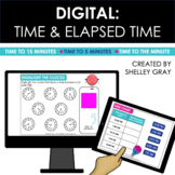 DIGITAL: Time and Elapsed Time | Distance Learning