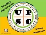 DIGITAL UPSC - Graphic Organizer for Solving Word Problems