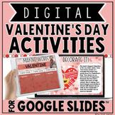DIGITAL VALENTINE'S DAY ACTIVITIES IN GOOGLE SLIDES™