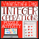DIGITAL VALENTINE'S DAY INTEGER OPERATIONS ACTIVITY
