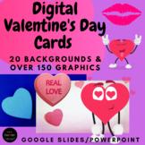 DIGITAL Valentine's Day CARDS Activity Virtual Valentines Exchange in Google