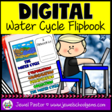 Water Cycle DIGITAL Flipbook (Google Classroom Distance Le