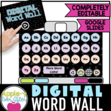 DIGITAL Word Wall - Muted tones - Dictionary - Alphabet |
