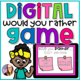 DIGITAL Would You Rather Game - Distance Learning
