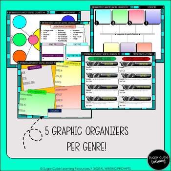 DIGITAL Writing Prompts: Narrative, Persuasive, & Informational