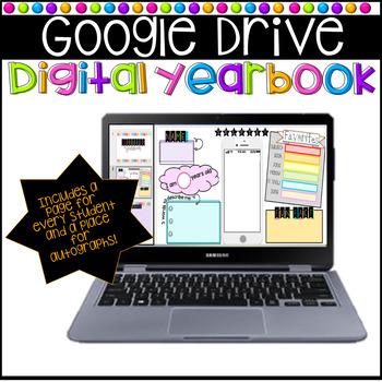 DIGITAL yearbook!  (Google Drive Slides)