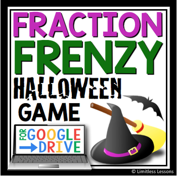 DIGITALHALLOWEEN MULTIPLY AND DIVIDE FRACTION REVIEW GAME
