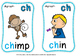 DIGRAPH FLASHCARDS cl