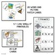 DIGRAPH LITERACY CENTERS FOR DIGRAPHS SH, CH, TH, WH FOR EMERGENT READERS