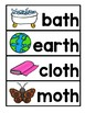 DIGRAPH TH VOCABULARY CARDS