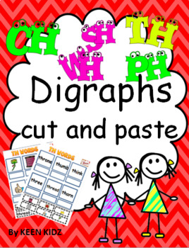 DIGRAPHS CUT AND PASTE