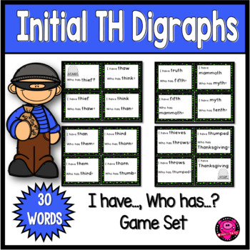 Th Diagraph Word Games