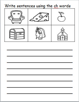DIGRAPHS READ, WRITE AND DRAW