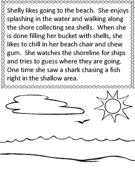 DIGRAPHS SH - CH  Short Story and Word Sort  ~FREEBIE~