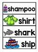 DIGRAPHS SH, WH, AND PH VOCABULARY CARDS