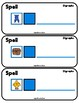 DIGRAPHS Task Cards for Spelling Practice