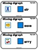 PHONICS TILES: DIGRAPHS Task Cards with Missing Digraph