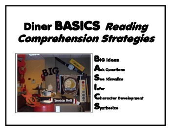 DINER for Reading Mnemonic, Common Core State Standards, and Wall Display