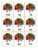 DINNER TIME! A CVC Word Card Game!