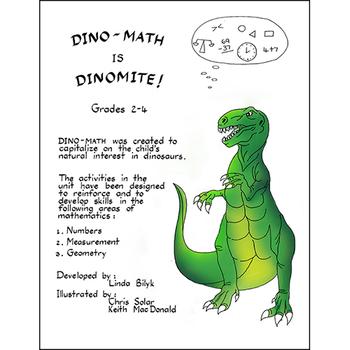 DINO-MATH IS DINOMITE! Gr. 2-4